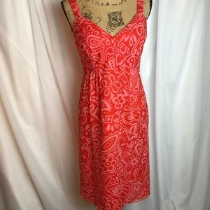 Anna Sui For Anthropologie Silk Dress
